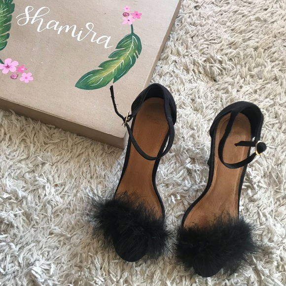 ec1395ef240c Asos feather heels. M 5abfe34e50687c926b4b10ba